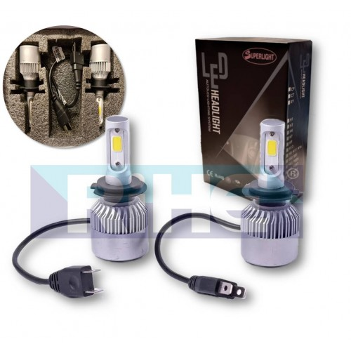 SET AMP LED H7 DC9-32V 6000K